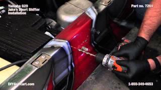 10. Jake's Sport Shifter Yamaha Drive Golf Cart   How to Install