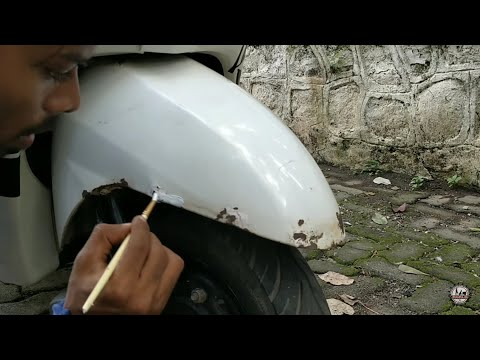 How to remove rust from your scooter and motorcycle's