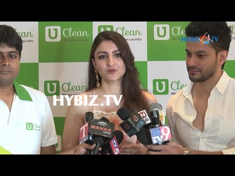 Soha Ali Khan at Launching of U Clean