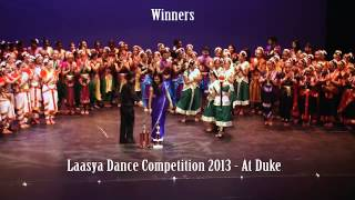 LAASYA 2013 DANCE COMPETITION WINNERS