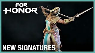 For Honor: New Signatures | Weekly Content Update: 01/16/2020 | Ubisoft [NA] by Ubisoft