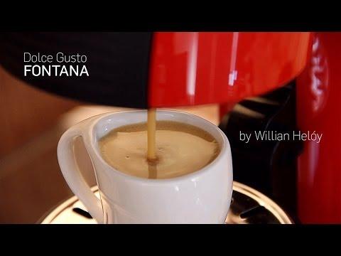 Nescafe DOLCE GUSTO FONTANA - Espresso e Latte Macchiato com capsulas