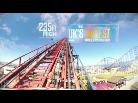 Blackpool Pleasure Beach 2014 Thrill Seeker Advert