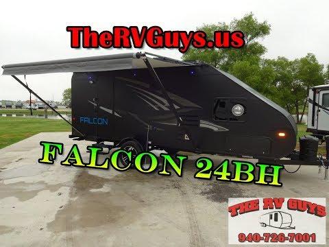 Travel Lite Falcon 24BH Bunk House Travel Trailer (Eclipse Edition)