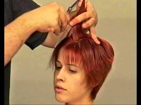 Как подстричь женщину с короткими волосами в домашних условиях 227