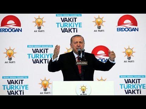 Ερντογάν: «Μετατρέψτε δολάρια και ευρώ σε λίρες»