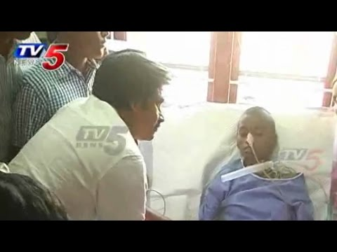 Crying - Srija, a 12-year old girl from Palwancha, Khammam district, has been suffering from brain tumour for the past few days. Apparently, the doctors has informed her parents that her days are numbered...