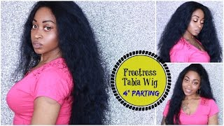 FREETRESS EQUAL SILK BASE LACE FRONT WIG - TABIA. 4 inch Parting Space!!! ☆ 4