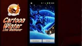 Winter Snow Cartoon LWP PRO YouTube video