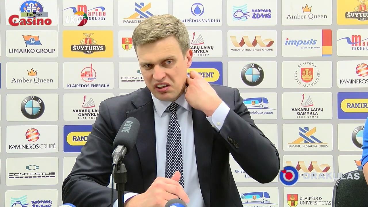 """D. Adomaitis: """"Gerai dirbome gynyboje, stigome jėgų puolime"""""""