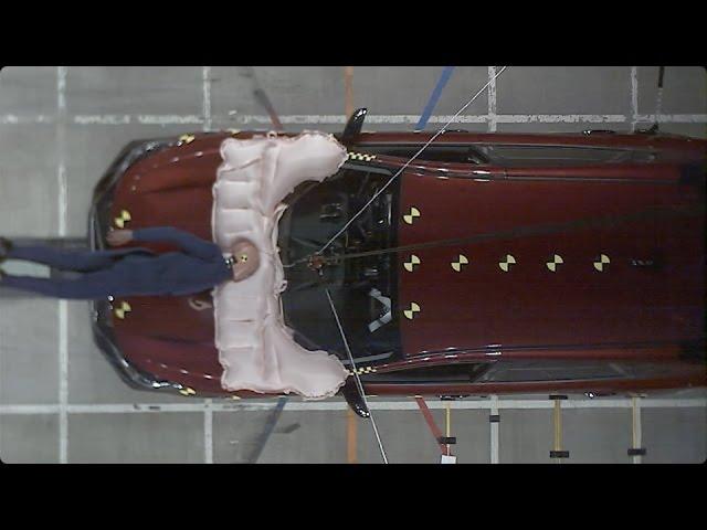新型SUBARU XV:歩行者保護エアバッグ