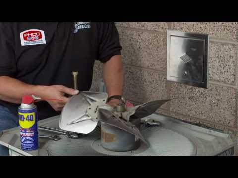 Replacing Fan Blades with WD-40® Multi-Use Product