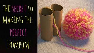 Video The Secret to Making the Perfect Pom Pom MP3, 3GP, MP4, WEBM, AVI, FLV Juni 2019