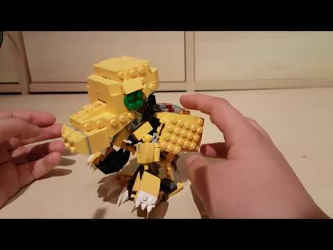 Lego DIGIMON ADVENTURE Agumon Zu Wargreymon V2