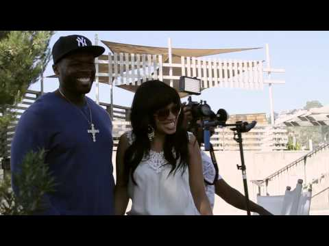 Hollywood Music Network Presents - 50 Cent Interview Part 2 - 50 Cent's Backyard