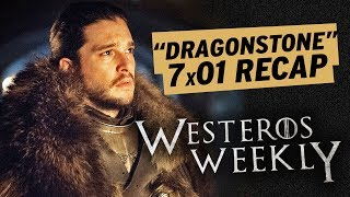 Subscribe to ET: http://bit.ly/1xTQtvw ET's Ashley Crossan and Leanne Aguilera break down the Season 7 premiere of HBO's 'Game of Thrones,' 'Dragonstone.' Th...