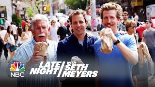 Video Seth and Josh Meyers Go Day-Drinking in Brooklyn - Late Night with Seth Meyers MP3, 3GP, MP4, WEBM, AVI, FLV September 2019