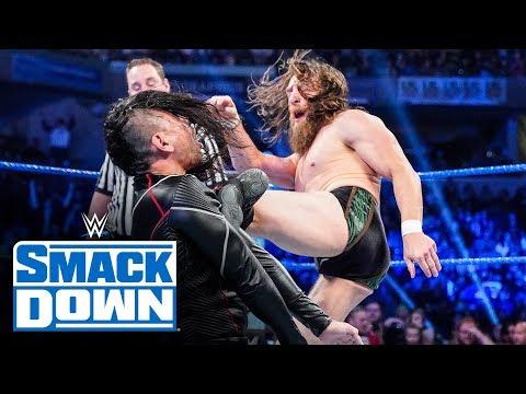 Roman Reigns amp Daniel Bryan vs. King Corbin amp Nakamura SmackDown, Oct. 18, 2019