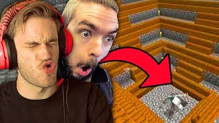 We BUILT the GREATEST thing in Minecraft by PewDiePie