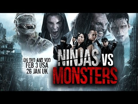 NINJAS VS MONSTERS Trailer