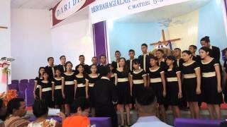 Video Aleluia Choir ( JMO - NTT )  - Uis Tutani Maun MP3, 3GP, MP4, WEBM, AVI, FLV April 2019