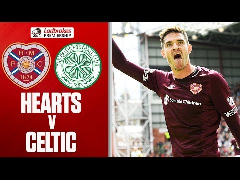 Hearts 1 - 0 Celtic | Stunning Lafferty Volley Seals Win Over Champions | Ladbrokes Premiership (видео)