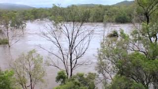 Biloela Australia  city photo : Australia Day Flood 2013 Biloela QLD Part 2 - Callide Dam