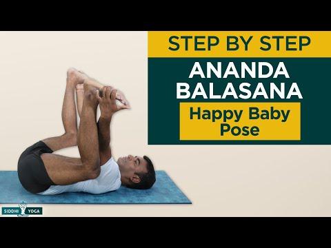 Ananda Balasana (Happy Baby Pose)