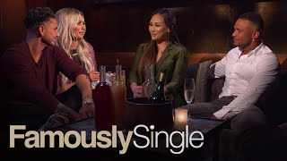 "DJ Pauly D & Aubrey O'Day are joined by Dorothy Wang and David McIntosh to talk drama-filled date night between their costars--and themselves!SUBSCRIBE: http://bit.ly/EentsubAbout Famously Single:Famously Single features eight single celebrities who have been infamously unlucky in love gathering under one roof to learn how to (finally) pick the right match. Eight celebrities move into a downtown LA loft, where they take part in exercises, therapy sessions and real dates to find the real love they've lacked until now.  Connect with the Famously Single:Visit the Famously Single WEBSITE: http://www.eonline.com/shows/famously_single  Like Famously Single on FACEBOOK: https://www.facebook.com/famouslysingleone/ Follow Famously Single on TWITTER: https://twitter.com/FamouslySingleFollow Famously Single on Instagram: https://www.instagram.com/famously_single/ About E! Entertainment:E! is on the Pulse of Pop Culture, bringing fans the very best original content including reality series, scripted programming, exclusive specials, breaking entertainment news, streaming events and more. Passionate viewers can't get enough of our Pop Culture hits including ""Keeping Up with the Kardashians,"" ""Fashion Police,"" ""The Royals,"" ""Total Divas"" and ""Botched."" And with new original programming on the way, fans have even more to love.Connect with E! Entertainment:Visit the E! Website: http://eonli.ne/1iX6d8n Like E! on FACEBOOK: http://eonli.ne/facebookCheck out E! on INSTAGRAM: http://eonli.ne/IGFollow E! on TWITTER: http://eonli.ne/twitterFollow E! on Spotify: http://eonli.ne/spotify""Famously Single"" After Hours Season 2, Ep.4  E!http://www.youtube.com/user/Eentertainment"