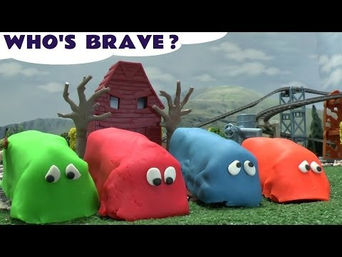 Thomas and Friends Play Doh Egg Surprise Who Is Brave Playdough Toy Train Tale Of The Brave Film DVD