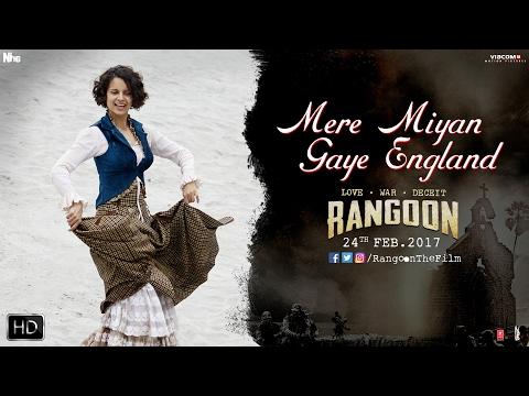 Video Mere Miyan Gaye England | Rangoon | Shahid Kapoor | Kangana Ranaut | Saif Ali Khan download in MP3, 3GP, MP4, WEBM, AVI, FLV January 2017