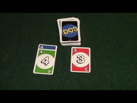How To Play Dos Card Game (Sequel To Uno)