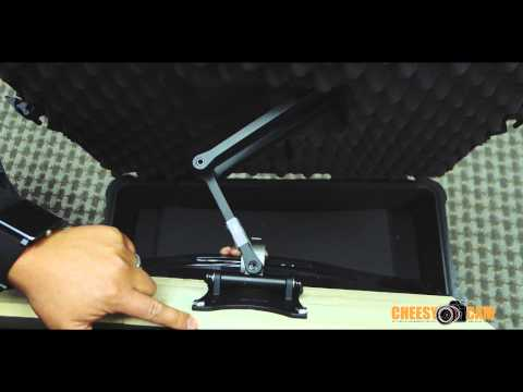 DIY Custom 1080p HDMI LCD Monitor Mount in Pelican Case (видео)