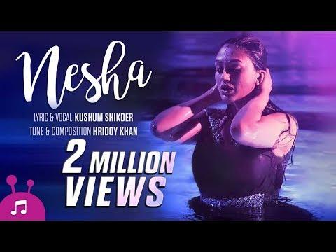 Download Nesha | Bangla Music Video | Kushum Shikder | Hridoy Khan | Khaled Hossain Shujon HD Mp4 3GP Video and MP3