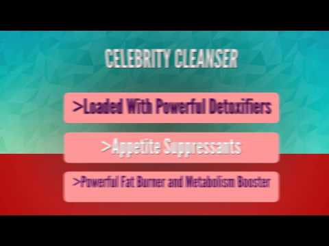 Celebrity Cleanser Best Detox Cleanse | A Natural Weight Loss Detox Cleanse Diet