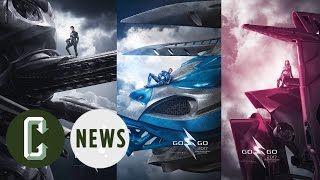 Power Rangers Zords Revealed in New Posters by Collider