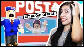 Video MY BOYFRIEND GOT ME TRAPPED AT THE POST OFFICE! - Roblox Roleplay MP3, 3GP, MP4, WEBM, AVI, FLV Januari 2018