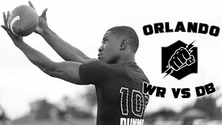Nike Football's The Opening Orlando 2017 | WR vs DB 1 on 1's