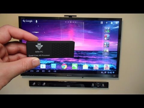Tronsmart MK908 Quad Core RK3188 CPU Android Mini PC Review