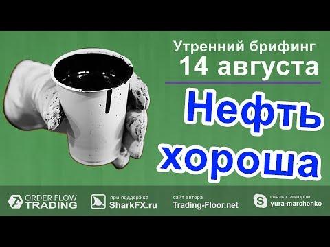 🌅 Утренний брифинг от 14 августа. 📈Прогноз рынка форекс и forts. EURUSD, GBPUSD, USDCAD, USDJPY онлайн видео