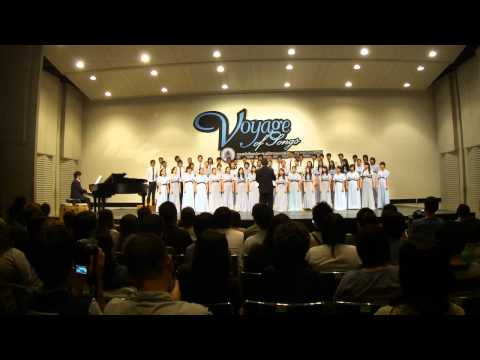 a la mode - Song : A La Mode Composer : Audrey Snyder Concert Theme : Voyage of Songs Conductor : Sathit Sukchongchaipruk Pianist : Rit Subsomboon Choir : Thai Youth Cho...
