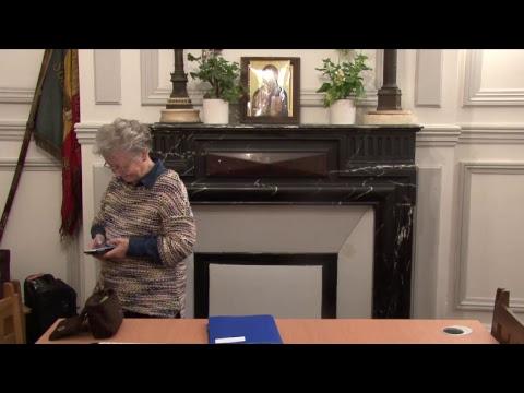 CDS Paris, 29 mars 2018: Hélène Sejournet - Mémorisation évangile