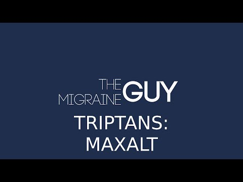 The Migraine Guy - Triptans (Maxalt)