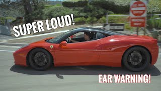 DRIVING THE LOUDEST FERRARI 458 IN THE WORLD by TJ Hunt