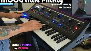 Download Lagu MOOG LITTLE PHATTY STAGE II PURPLE w/ CV OUTS ANALOG SYNTHESIZER SYNTH Mp3