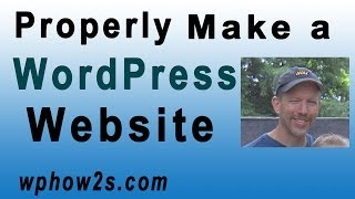 WordPress Tutorial For Beginners | Properly Make A Website With WordPress | Twenty Fourteen 2014