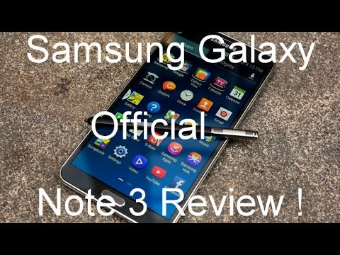 samsung - Samsung Galaxy Note 3 - Official Review Introducing the new Samsung GALAXY Note 3 which shares a smarter large screen experience and new S Pen features that ...