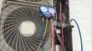 Found this Daikin A/C that wasn't working correctly.