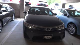 2012 Toyota Camry L Review And Test Drive 3