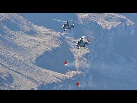 2 Eurocopter AS-332 Super Puma...